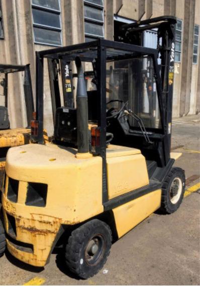 Autoelevador Yale 2,5tn Motor Nissan Diesel Envio A Interior