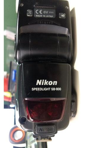 Flash Nikon Sb 800  Fotos Reais Do Flash