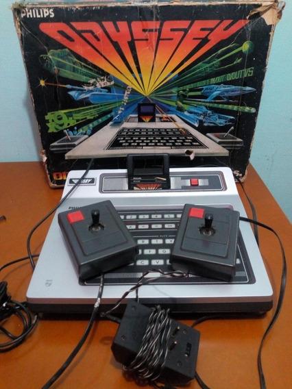 Videogame Antigo Odyssey Da Philips. Na Caixa. Bem Conserv