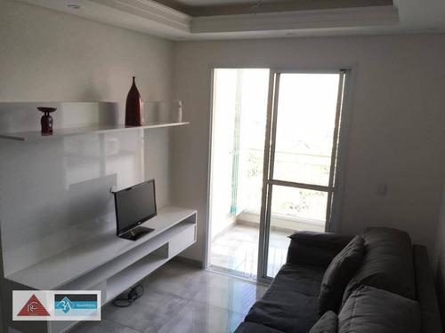 Imagem 1 de 30 de Apartamento Com 2 Dormitórios À Venda, 58 M² Por R$ 380.000 - Vila Ema - São Paulo/sp - Ap5673