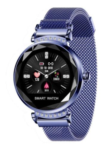 Smartwatch H2 Para Mujer- Podómetro, Tensión, Notificaciones