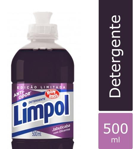Imagem 1 de 1 de Detergente Limpol Jabuticaba 500ml