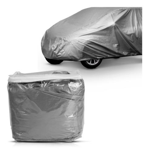 Imagem 1 de 3 de Capa Cobrir Carro Forro Impermeável Central P