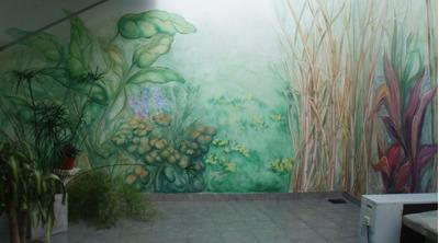 Murales Y Pátinas Pintados , Cuadros - Arte Y Deco - Muebles