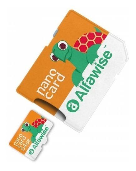 Cartão De Memória Alfawise 64gb Sdxc 80mbps Classe 10