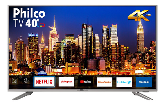 Smart Tv Philco 40 4k Led 40ptv40g50sns Bivolt