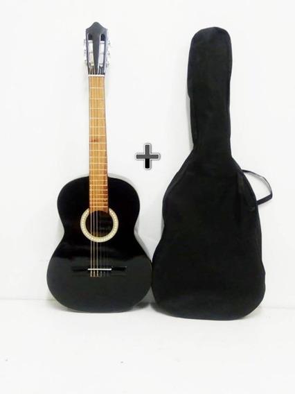 Guitarra Criolla Clasica De Estudio + Funda De Regalo