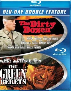 Blu-ray 12 Del Patibulo + Boinas Verdes / Incluye 2 Films