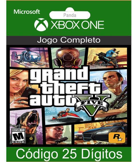 Gta 5 Grand Theft Auto 5 Xbox One Codigo 25 Digitos Oficial