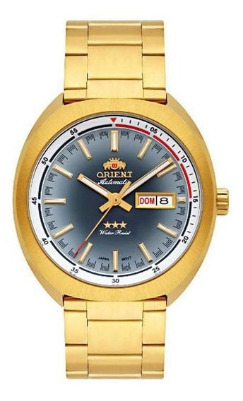 Relógio Orient Analógico Automático 469gp082 Dourado