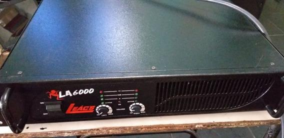 Amplificador Potencia Leacs La 6000 - 1000 W Rms - Semi Nova
