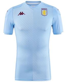 Nova Camisa De Futebol Aston Villa 2019 Oficial - Patrocínio