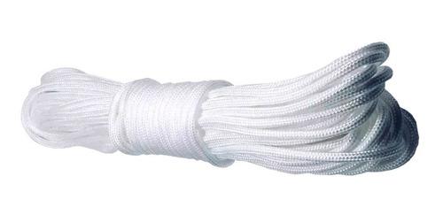 Corda P/ Varal De Teto Ou Quintal Apto Polipropileno 4mm 15m