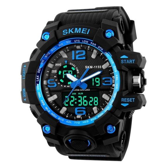 Skimei Led Digital Relógio Original Modelo1155 Prova D