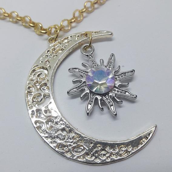 Colar Sou Luna Dourado, Soy Luna: Lua E Sol