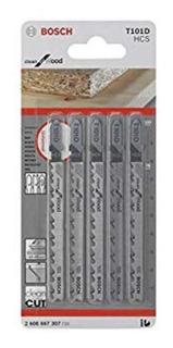 Hoja Sierra Caladora T101d 5und Bosch 2608667307