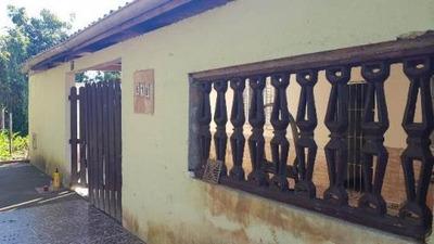 Casa Barata Escriturada! Na Praia. 02 Quartos. Visite!
