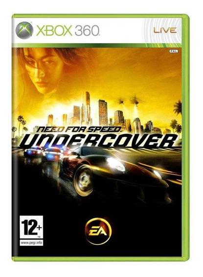 Need For Speed Undercover Xbox 360 Europeu Mídia Física