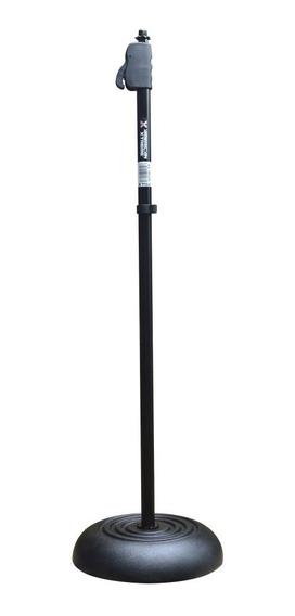 Pedestal Metalico Reforzado De Microfono / Altura Variable
