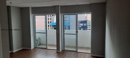 Sala Comercial Para Locação Em São Paulo, Vila Olímpia, 2 Banheiros, 1 Vaga - Asr0028_2-1125521
