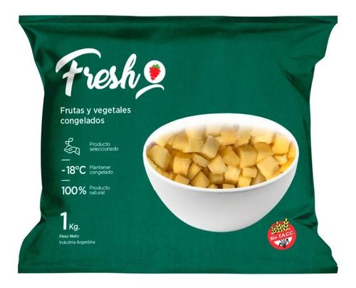 Mango Cubeteado Congelado Iqf Fresh X 1kg