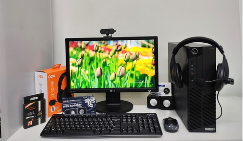 Imagem 1 de 9 de Monitor De 19, Cpu Core I3 , Mouse E Teclado