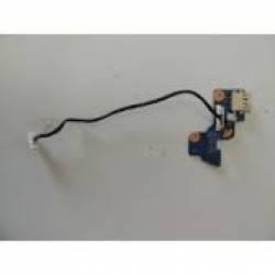 Usada Placa Do Power C/cabo Para Notebook Samsung (11807)