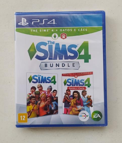 Jogo The Sims 4 Ps4 Mídia Física Novo Lacrado Playstation 4