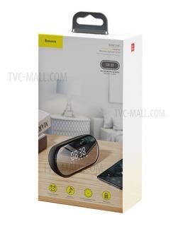 Parlante Bluetooth Reloj Alarma Baseus Original