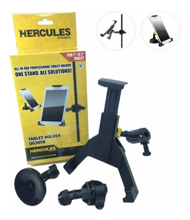 Soporte Universal Tablet Parante Microfono Hercules Dg305b