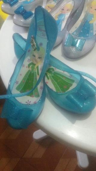 Sapatilhas Frozen/sandália Frozen. 23 Calçados.