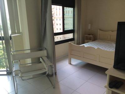Flat Com 1 Dormitório Para Alugar, 36 M² Por R$ 1.990/mês - Jardim Paulistano - São Paulo/sp - Fl0002