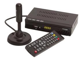 Conversor Digital Analógico + Antena Hd Interna Externa Uhf