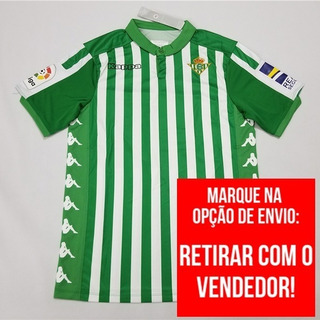 Camisa Real Betis 19/20 Oficial La Liga ( Personalize )