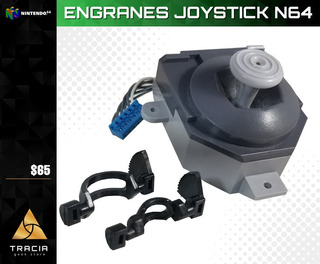 [ Engranes Nintendo 64 ] N64 Joystick Control Xy | Tracia