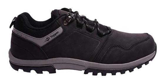 Zapatillas Topper Outdoor Kang Low Hombre Ng/gr