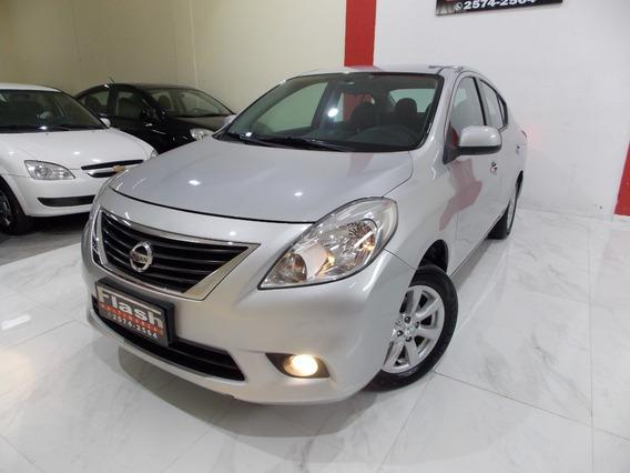 Nissan Versa Sl 1.6 2014 Completo + Couro (muito Novo)