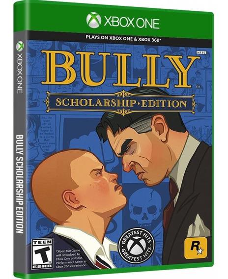 Jogo Bully Scholarship Edition Xbox One Disco Fisico Lacrado