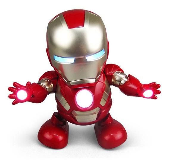 Marvel Avengers Iron Man Toy Electronic Led Canto Ligero