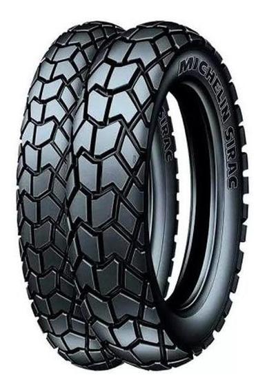 Par Pneus Michelin Sirac 90/90-19 +110/90-17 Bros125 150 160