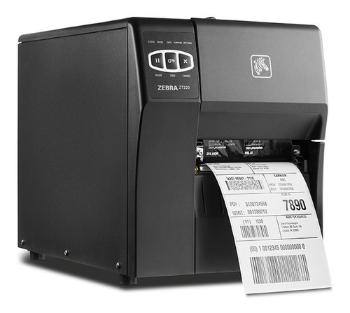 Impressora Térmica Zebra Zt220 Revisada Com Garantia+frete