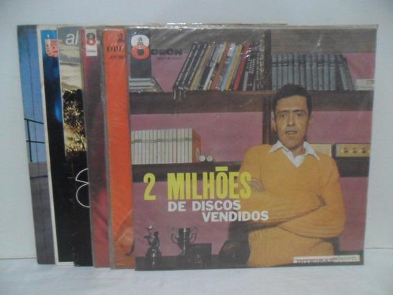 Lote - 6 Lps - Discos De Vinil - Anísio Silva