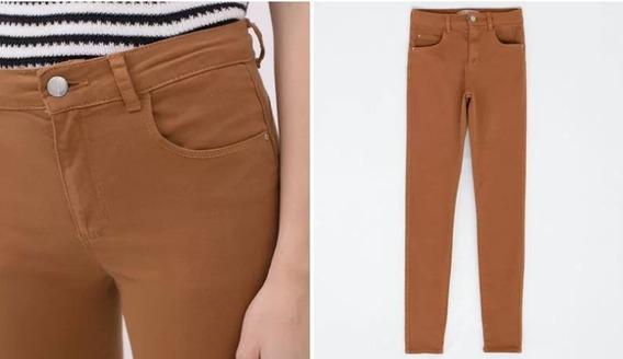 Calça Feminina Caramelo Cintura Alta