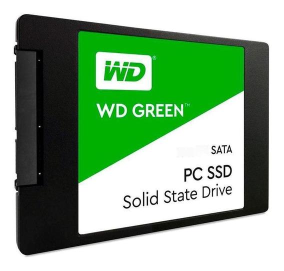 Ssd Wd Green 1tb Sata Leit 545mb/s Grav 430mb/s Wds100t2g0a
