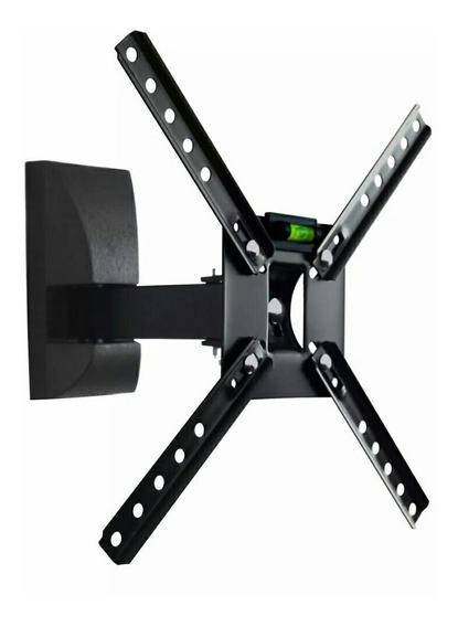 Kit C/5 Leve 6 Suporte Art Tv Movel Sbrp130 Brasforma 10a55