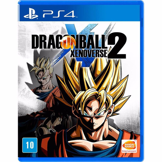 Jogo Dragonball Xenoverse 2 Playstation 4 - Midia Fisica