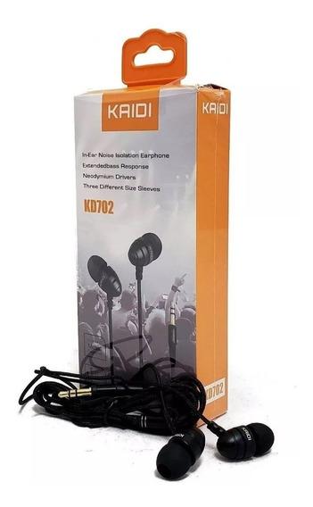 Fone De Ouvido Kaidi Kd-702 Original Stereo Music
