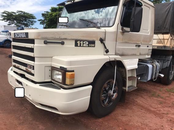 Scania T 112 Hw Ano 1990 E Carreta Randon Ls Ano 1996