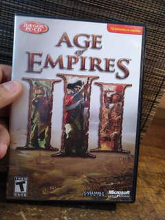 Juego Age Of Empires 3 Para Pc Original