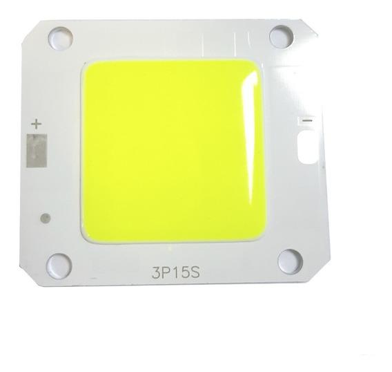 04 Chip Led 30w Verde Para Manutenção De Refletores Led